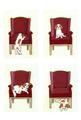 ポストカード:キャバリア[赤い椅子]