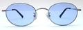 【期間限定セール企画・クラシック&インテリジェンスなオーバルサングラス】BLESS ORIGINAL Classic Eight-SUN Lens Color:Blue