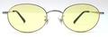 【期間限定セール企画・クラシック&インテリジェンスなオーバルサングラス】BLESS ORIGINAL Classic Eight-SUN Lens Color:Yellow