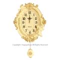 天使の振り子時計 オーバルデザイン