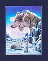 冬の森・慈しみの狼たち