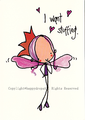 Stuffing Fairy  ポストカード