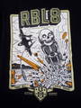 REBEL8 レベルエイト TOP GUNNER ZIP-UP PARKA BLACK