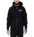 REBEL8 レベルエイト TOP GUNNER ZIP-UP PARKA BLACK