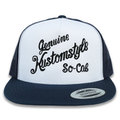 "KUSTOMSTYLE""RACE WAY"" MESH CAP メッシュキャプ NAVY/WHITE"