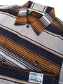 KUSTOMSTYLE13' SERAPE SHORT SLEVE SHIRTS BROWN