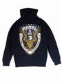 SALE!!-定価\11880- 40%OFF REBEL 8 レベルエイト WORLDWIDE DOMINATION ZIP UP HOODIE NAVY ジップアップパーカー