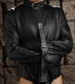 ストリクトレザープレミアム拘束服  ストレイトジャケット/拘束衣