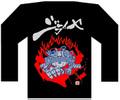 ジライヤ ロング Tシャツ'10(黒)B