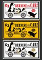 予約受付中!【車用】新デザインで3色展開!▲ビック・マグネットステッカー