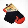 SATORI HEMP SOCKS -WARRIOR V2 CREW SOCK- RED/BLACK