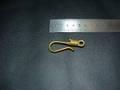 真鍮無垢コイル巻き釣り針フック(Sサイズ)