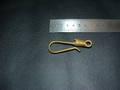 真鍮無垢コイル巻き釣り針フック(Mサイズ)