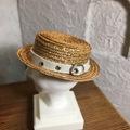 レザーベルトカンカン帽(1/6小ヘッド)