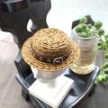 レザーベルトカンカン帽(1/6極小ヘッド)