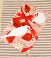 ミニマイクロファイバークロス「Strawberry&Javasparrow」(TTP0031)