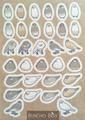 文鳥シール茶(BCB0006)
