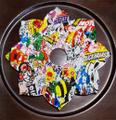 落書き シーシャ・水タバコ用トレイ Graffiti Shisha Hookah tray 011