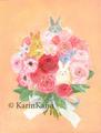 うさぎの花束