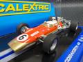 "scalextric1/32 スロットカー C3311 ◆Lotus Cosworth 49  ""Gold Leaf""  #6/Jim Clark, 1968 Tasman Series     最新ジムクラークのゴールドリーフ・ロータス   再入荷完了!直入品★人気商品!"