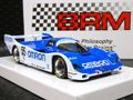 BRM 1/24 スロットカー  BRM-020AW ◆Porsche 962C   Omron Racing Team #55/V.Schuppan、E.Elgh、K.Matsumoto    made in Itary 貫録の1/24ビックスケール!★オムロン・ポルシェ入荷しました!