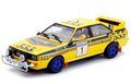 team-slot 1/32 スロットカー  TS-12305 ◆ AUDI QUATTRO A2 #1/Mikkola & Hertz. Hong Kong Beijing Rally 1985 winner - ベルト駆動の4WDモデル!  アウディ-クワトロにニューモデル香港・北京ラリー★入荷完了!