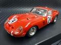 RACER/シルバーライン 1/32 スロットカー   RC-SL06★FERRARI 250-GTOFerrari 250-GTO Equipe Nationale  Le Mans 1963  #24/ Belge Beurlys & Langlois   逸品・シルバーラインシリーズ★ この価格はお値打ち!