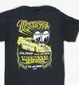 """ムーンアイズ N.H.R.A. 限定商品 ★""""MOON EYES"""" NITORO FUNNYCAR Tシャツ  / Jim Dunn Racing  N.H.R.A.最終戦の会場より直輸入★希少商品!"""