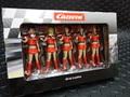 Carrera 1/32 コースサイド アクセサリー  21123◆NEW グリッドガール 5体セット/GRID GIRLS FIGURES  サーキットのジオラマに! 新入荷!★オネエさんも若返って新登場!