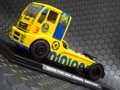 "Flyslot  1/32 スロットカー  203109◆ MAN TR1400 "" Minions Truck""  Special Edition. 激レア ""ミニオン・トラック"" 限定モデル! 2017・初入荷!★ミニオンズ!"
