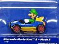 """Carrera-Go スロットカー 1/43 64149 ◆マリオカート マッハ8 """"ルイージ""""  任天堂マリオカート8""""  NINTENDO Mario Kart Mach 8 - Luigi カレラGoは1/32のコースでも走れます★マリオカート!"""