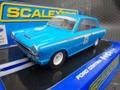 scalextric1/32 スロットカー  C3307 ◆FORD CORTINA MONZA   #16/Dal Lago  2011 HistricCars Championship   ブルーのコルチナ!★いかがでしょうか?
