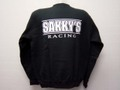 "SAKKY'S RACING TEAM  ★""Sakky'sRacing"" スエットシャツ   ◇カラーはブラックのみ"