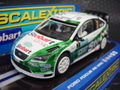 "Scalextric1/32 スロットカー  ◆FORD FOCUS RS WRC  #7 team ""Stobart"" 4WD  ★再入荷しました!"