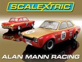 Scalextric 1/32 スロットカー限定BOX  ◆Ford Escort and Ford Lotus Cortina,   Alan Mann Racing    世界限定3000台★レア入手困難・再入荷!
