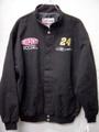 NASCAR公式商品/メンズウェアー  ◆コットン ウィンド・ブレーカー #24 Jeff Gordon    ブラック/前後刺繍ロゴ入り。         ★セール特価3割引!