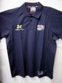 NASCAR/公式オフィシャル商品  #24JeffGordon ピット・ポロシャツ      刺繍ロゴ入り★濃紺/Lサイズ
