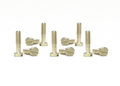 slotit製 1/32スロットカーパーツ  ☆ブロンズ・段付きビス ロングタイプ/2.2mm×8mm(10本入)  ◎ボディーガタ出し加工に最適!