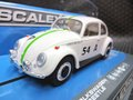 Scalextric 1/32 スロットカー  C3745◆Volkswagen Beetle #54/Barry Ferguson & Bill Ford.  Bathurst 1963,    ハイディティールモデル・前後ライト点灯★4月初旬再入荷します! 予約してね!!