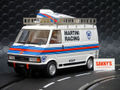 "Avantslot 1/32 スロットカー RSV2101◆Van Fiat 242 ""Martini Racing"" チーム アシスタントカー インライン/2WD  話題のモデル!◆送料無料サービス!"