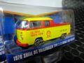 GreenLight 1/64 ダイキャストモデル ◆1976 VW T2 Type 2 Double Cab Pick-Up Shell Oil シェルカラーのカッコいいピックアップ!★早いもの勝ちの一台。
