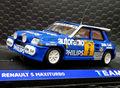 Team Slot 1/32 スロットカー  12108◆RENAULT 5 MAXITURBO  #5/Guillermo Barreras.  Campeonato Race 1988   ◆新入荷商品!