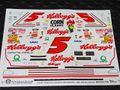 "slixx製 1/24 スロットカー用 NASCARデカール  ★#5 Terry Labonte ""Kellogg's Corn Flakes""  Monte Carlo SS 希少!◆ウォータースライドデカール"