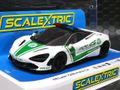 """scalextric1/32 スロットカー C4056◆McLaren  720S Police Car """"Dubai Police""""   サイレンサウンド&フラッシングライトバー!   マクラーレン720Sにポリスカー新登場!★入荷しました!!"""