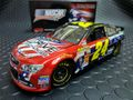 "LIONEL  1/24 ダイキャストモデル  ◆#24 JEFF GORDON  ""AARP AMERICAN SALUTE"" 2013/CHEVROLET SS   春はNASCARフェアー!★新価格・最新入荷!"