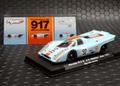 FLYSLOT 1/32 スロットカー  005107◆PORSCHE 917K #92/Van Lennep Watkins Glen-Can Am 1971  Limited Editionガルフ、 750台限定モデル 全3台シリーズの#2★3台コンプリートしますか??。