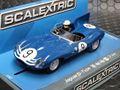 Scalextric 1/32 スロットカー C3730◆Jaguar D-Type  #9/Ivor Bueb 、Jock Lawrence  Nurburgring 1000km 1957   ハイディティールモデル 8月の新発売★ジャガーDタイプ 入荷しました。!