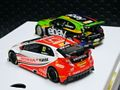 "Scalextric 1/32 スロットカー C3694a◆BTCC Champions Twin Pack     BMW 125  #5/ Colin Turkington 、Honda Civic  #52/ Gordon Shedden.  5000/Limited Edition ""2Cars-Set""  ハイディティールモデル★前後ライト点灯! 再入荷完了!◆BTCCチャンプ"