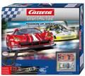 """Carrera digital132 コースセット  20030195◆Passion of Speed  """"パッション オブ スピード"""" set       フェラーリ 488 GT3 & ポルシェ 91 1 GT3 RSR 2台入りフルセット 全長7.3m 人気のロングコース!★人気商品が待望の再入荷!"""