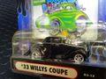 マッスルマシーンズ  1/64 ダイキャストモデル T03-12◆'33 WILLIS COUPE  「Muscle-Machines 」  絶版・マッスルマシーンズ!★'33ウィリス・クーペ!